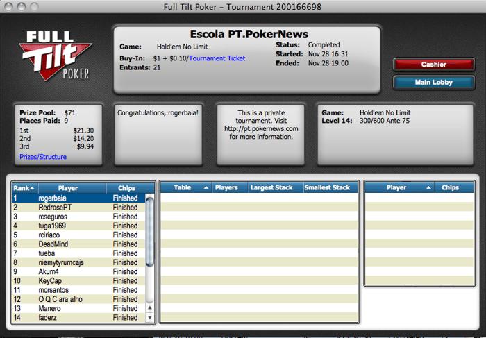 Liga PT.PokerNews Agarrada Novamente pelo Baía! 101