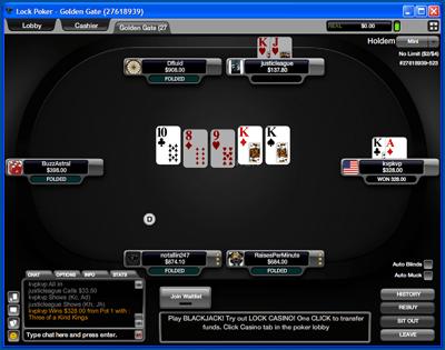 A Lock Poker Já Está no SharkScope 101