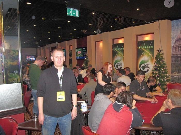 Autor Unibet Openi turniirisaalis
