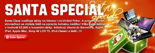 Vložte €30 a získejte místo ve €5000 Super Santa box finále 6. ledna! 101