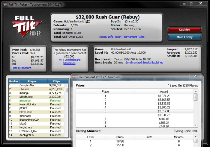 5 Minutos de Fama - Poker Tuga 101