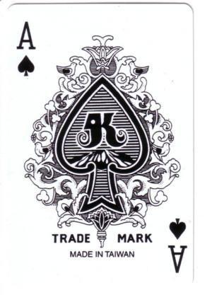 Royal kortų kaladės tūzas