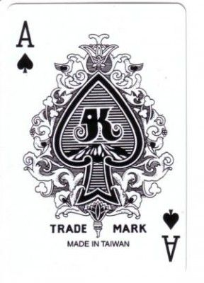 Ace of the Royal deck of cards