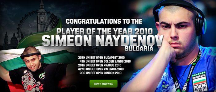 Симеон Найденов е Играч на Годината в Unibet Open 101