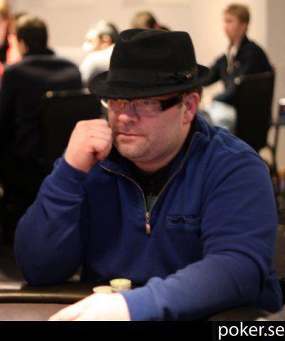 Dag Hjørnerud på finalebordet i Christmas Poker Week i Gøteborg 101