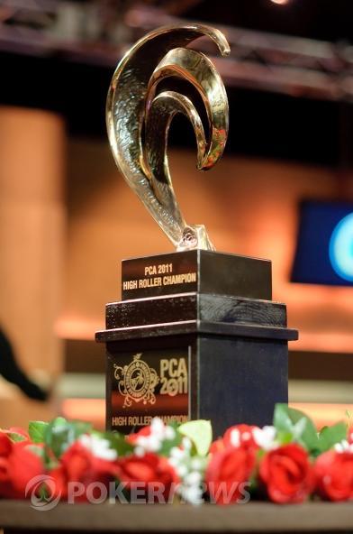 Trofej připravená pro vítěze