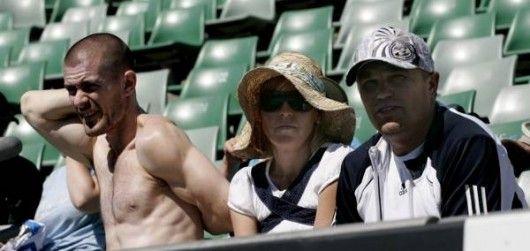 Gus Hansen na Australian Open