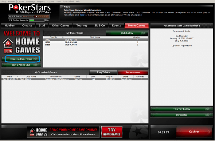 The PokerNews Guide to Setting Up a PokerStars Home Game 101