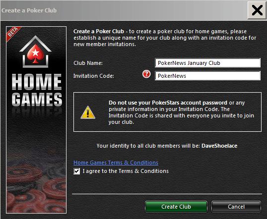 PokerNews pamācība PokerStar mājas spēļu uzstādīšanai 102