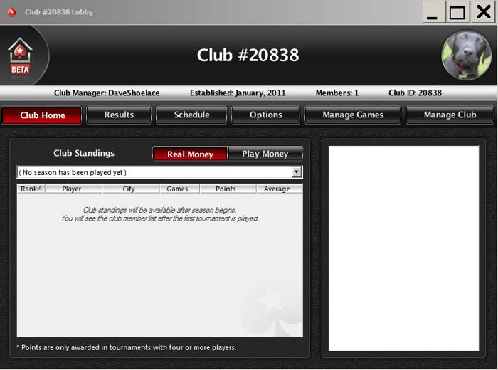 PokerNews pamācība PokerStar mājas spēļu uzstādīšanai 106