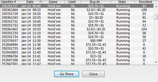 Amanhã à Noite Joga-se o Main Event PT Poker Series 105