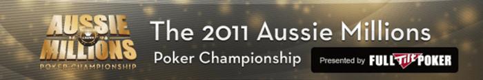 Klicka på bilden för att komma till Aussie Millions 2011 LIVE-rapportering