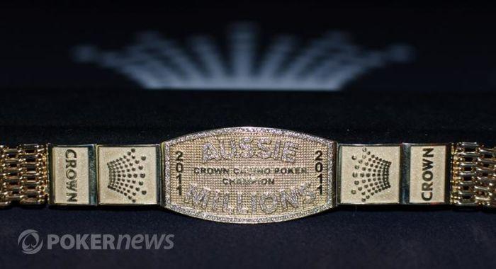 Náramek pro vítěze 2011 Aussie Millions Main Eventu - Davida Gorra