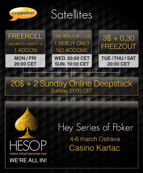 HESOP, Eureka Poker Tour, Unibet Open - Idealne turnieje dla Polaków 101