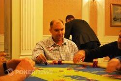 Виталий Лункин закончил первый игровой день со стэком 60,850