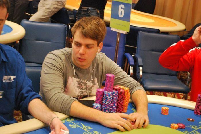 чип-лидером второго игрового дня Алексей Ковальчук