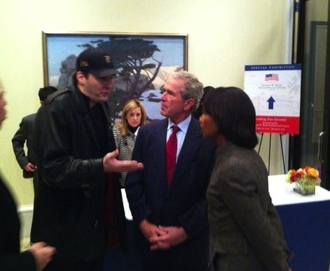 Phil Hellmuth povečeřel s Georgem W. Bushem 101