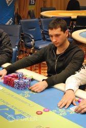 Михаил Гурков - чип-лидер финального стола
