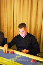 Сергей Рыбаченко принес во второй день более 80,000 фишек