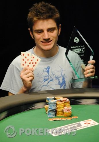 Ashton Griffin nevyhrává pouze turnaje, ale i šílené sázky