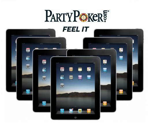 I iPady na vás čekají na PartyPokeru