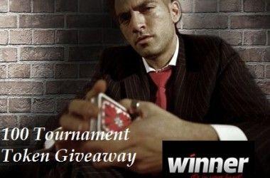 Delta i vår .500 pokerfreeroll hos Winner Poker 103