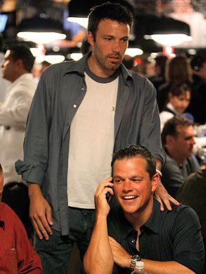 Mattas Damonas ir Benas Affleckas