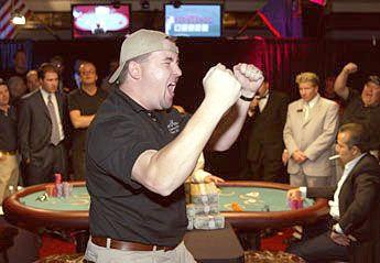 Chrisas Moneymakeris - akimirka po pergalės