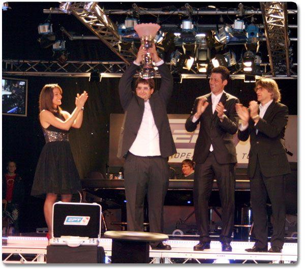 Pobednik EPT Grand FInal-a  u Monte Carlo-u Glen Chorny 101