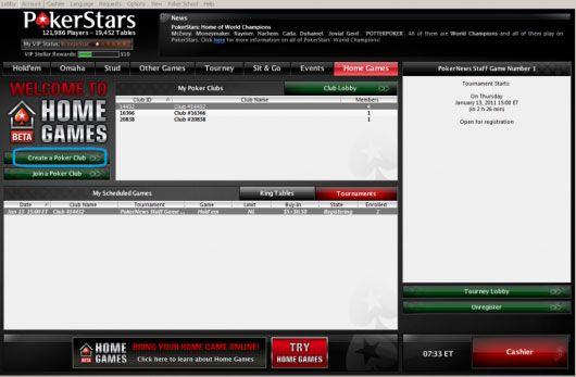PokerNika VODIČ za postavku Vaše privatne PokerStars Kućne Igre 101