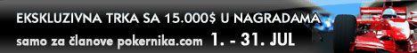 Race PokerNIKA.com na NoIQ Poker-u - 28 Jul i izveštaj ekskluzivnog Freeroll-a 101