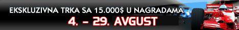 Ekskluzivna trka .000 - Race NoIQ Poker-a za Avgust 101