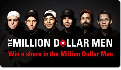 "PokerStars ""Million Dollar Men"" promocija 101"