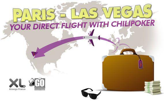 ChiliPoker sponzoriše konekciju Pariz-Las Vegas 101
