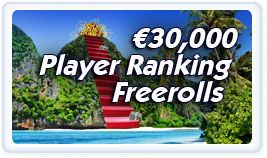 Paradise Poker: €30.000 u besplatnim turnirima! 101