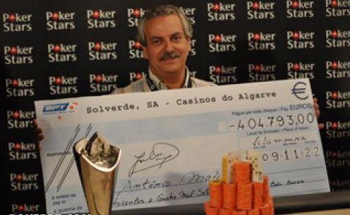 Antonio Matias novi Šampion Evropske Poker Ture Vilamoura u Portugalu! 101