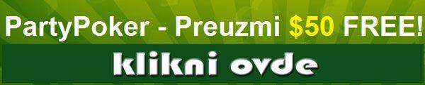 PokerNika u Novu Godinu sa .000 u PartyPoker Freeroll turnirima! 101