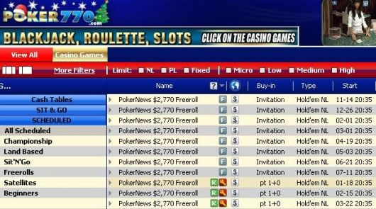 .770 Cash Freeroll Turnir - 18. 01. 2010. 101