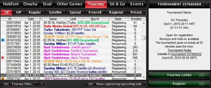 Bagovi na PokerStarsu za 1. April :) 102