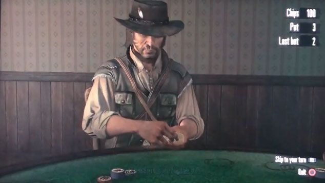 Red Dead Redemption sa Multiplayer Pokerom 101