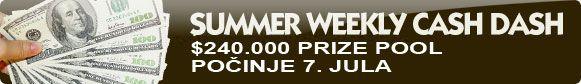 UVEK najbolje trke - RACE 0.000 prize pool + paketi za Malta Poker Tour 101