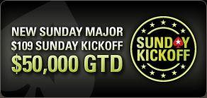 PokerStars predstavlja Sunday Kickoff 101
