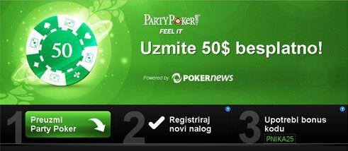 PartyPoker Nedeljnik: .000 Freeroll svakog dana, WPT Venice sateliti i utisci... 101