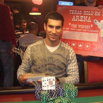 Stefan Rakić osvojio Novogodišnji Turnir u Jagodini 101