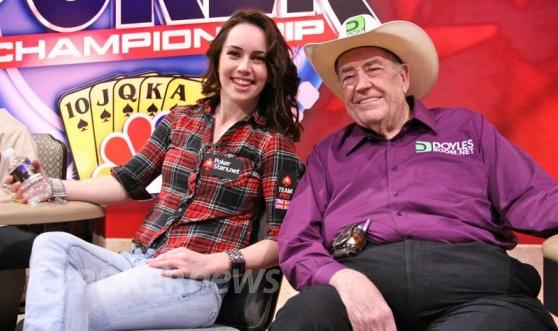 Liv Boeree to zabalila v top 32 hráčích, Doyle Brunson až v top 16.