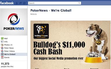 Бесплатные турниры Bulldog777 ,000 Cash Bash на Facebook и Twitter 101