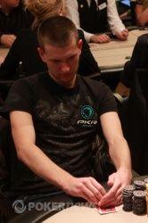 Чип-лидер соревнований - Vladimir Geshkenbein