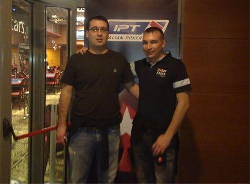 Mladenović (levo) i Korodi (desno)
