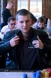 Владимир Гешкенбайн за финальным столом ЕРТ Snowfest