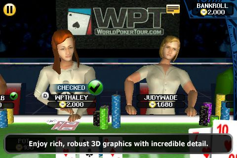 World Poker Tour® Hold 'Em Showdown на вашия iPhone 102